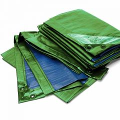 "Tarpaulin - RAINEXO ""Premium"" - Green/Blue -  diff. Sizes - 250g/m²"