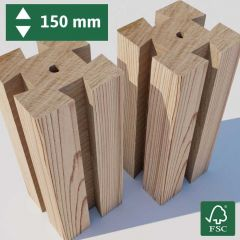 Pack of 2 Posts - 150 mm