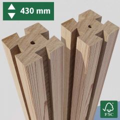 Pack of 2 Posts - 430 mm