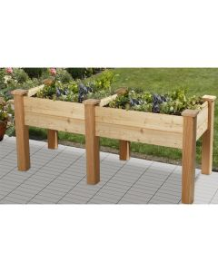 ORGANIC RAISED BED BHB200 - LARCH WOOD UNTREATED
