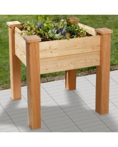 ORGANIC RAISED BED BHB60 - LARCH WOOD UNTREATED
