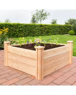 "Raised Bed - Larch Wood ""Premium L"""