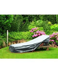 Sunbed Cover in silver gray - RAINEXO