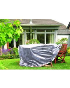 Garden Table Cover in silver gray - RAINEXO