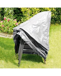 Outdoor Chair Cover in silver gray - RAINEXO