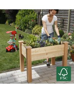 Organic Raised Bed - Larch Wood Untreated